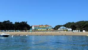 Où se situe les blaukhaus à la plage des dames de Noirmoutiers ?